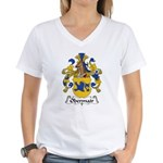 Obermair Family Crest Women's V-Neck T-Shirt