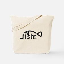 Fish On. Tote Bag