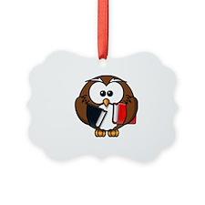Smart Owl Ornament