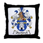 Oberkirch Family Crest Throw Pillow