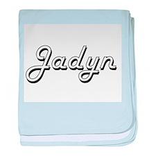 Jadyn Classic Style Name baby blanket