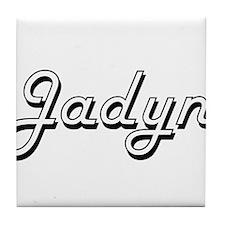 Jadyn Classic Style Name Tile Coaster