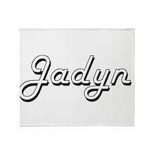 Jadyn Classic Style Name Throw Blanket