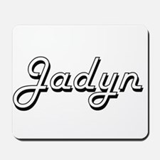 Jadyn Classic Style Name Mousepad