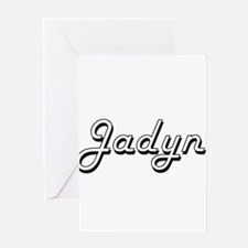 Jadyn Classic Style Name Greeting Cards