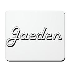 Jaeden Classic Style Name Mousepad