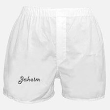 Jaheim Classic Style Name Boxer Shorts