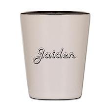 Jaiden Classic Style Name Shot Glass