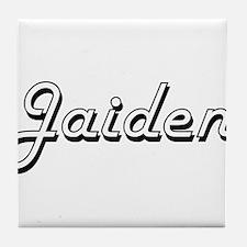 Jaiden Classic Style Name Tile Coaster
