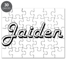 Jaiden Classic Style Name Puzzle
