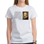 Thomas Jefferson 14 Women's T-Shirt