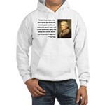 Thomas Jefferson 14 Hooded Sweatshirt