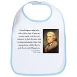 Thomas Jefferson 14 Bib