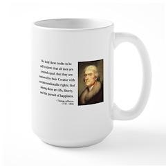 Thomas Jefferson 14 Large Mug