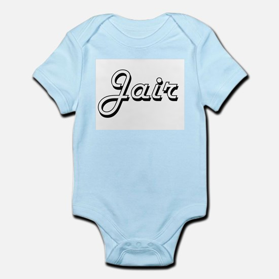 Jair Classic Style Name Body Suit