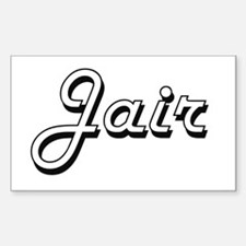 Jair Classic Style Name Decal