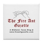 Fire Ant Gazette Tile Coaster