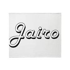 Jairo Classic Style Name Throw Blanket