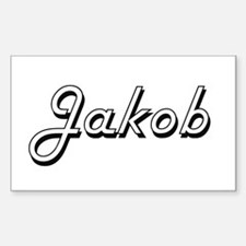 Jakob Classic Style Name Decal
