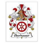 Oberhauser Family Crest Small Poster