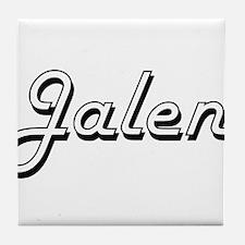 Jalen Classic Style Name Tile Coaster