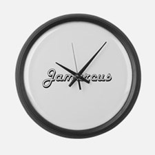 Jamarcus Classic Style Name Large Wall Clock