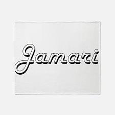 Jamari Classic Style Name Throw Blanket