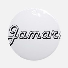 Jamari Classic Style Name Ornament (Round)