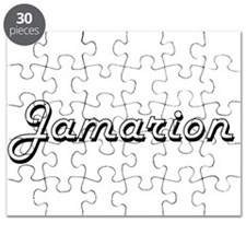 Jamarion Classic Style Name Puzzle
