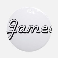 Jamel Classic Style Name Ornament (Round)