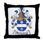 Obercamp Family Crest   Throw Pillow