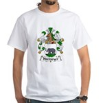 Niemeyer Family Crest White T-Shirt