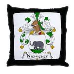 Niemeyer Family Crest Throw Pillow