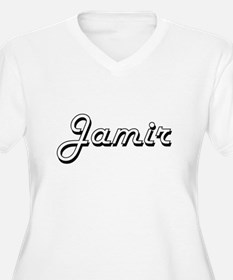 Jamir Classic Style Name Plus Size T-Shirt
