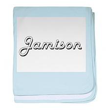 Jamison Classic Style Name baby blanket