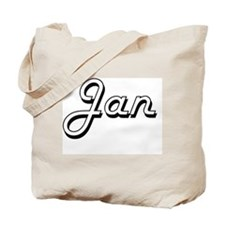Jan Classic Style Name Tote Bag