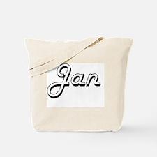 Jan Classic Style Name Tote Bag