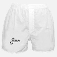 Jan Classic Style Name Boxer Shorts