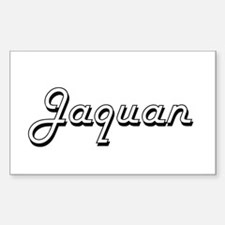 Jaquan Classic Style Name Decal
