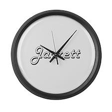 Jarrett Classic Style Name Large Wall Clock