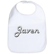 Javen Classic Style Name Bib