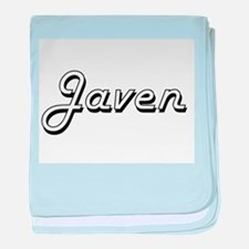 Javen Classic Style Name baby blanket