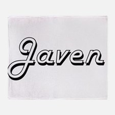 Javen Classic Style Name Throw Blanket