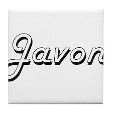 Javon Classic Style Name Tile Coaster