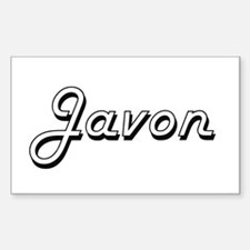 Javon Classic Style Name Decal