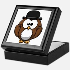 Gentleman Owl Keepsake Box