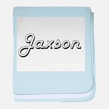 Jaxson Classic Style Name baby blanket