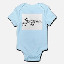Jayce Classic Style Name Body Suit
