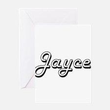 Jayce Classic Style Name Greeting Cards