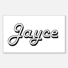 Jayce Classic Style Name Decal